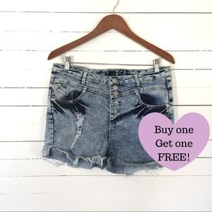 RUE 21 High Waisted Shorties (D005)